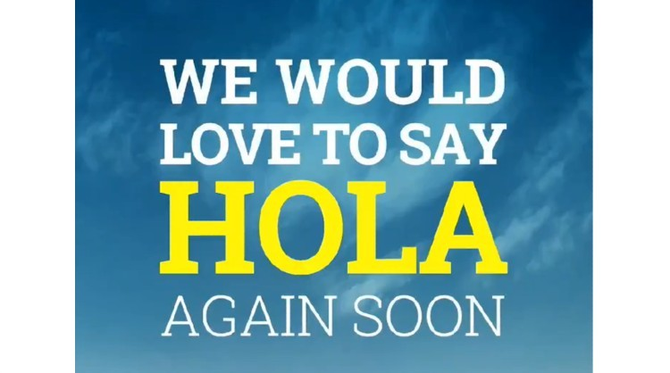Image of the new campaign by the Canary Islands