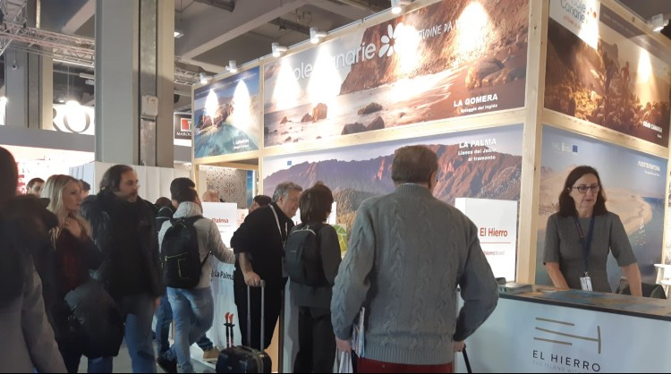 The Canary Islands brand at the Borsa Internazionale del Turismo of Italy (BIT 2020)