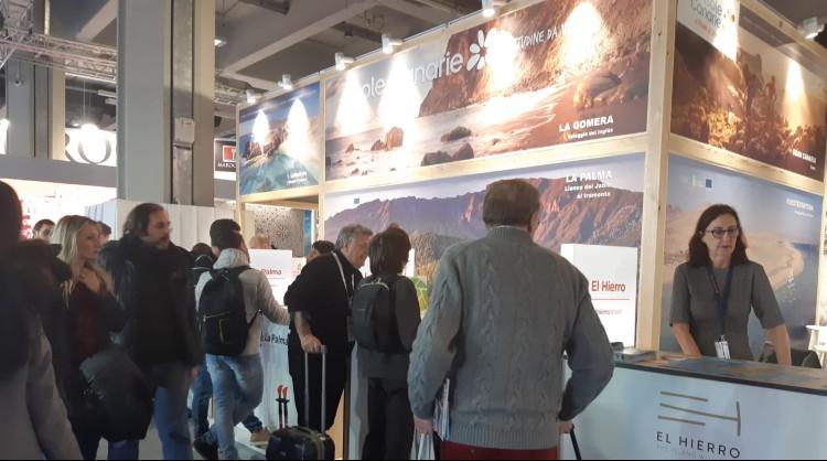 La marca Islas Canarias en la Bolsa Internacional de Turismo de Italia (BIT 2020)