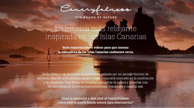 Canaryfulness, la nueva acción promocional de Islas Canarias para practicar el mindfulness