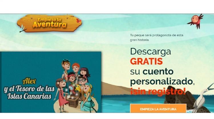 Islas Canarias participa en el Día del Libro con un original cuento personalizado para el público infantil