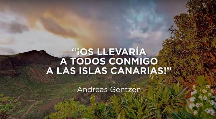 Gracias Tierra, de corazón. Islas Canarias