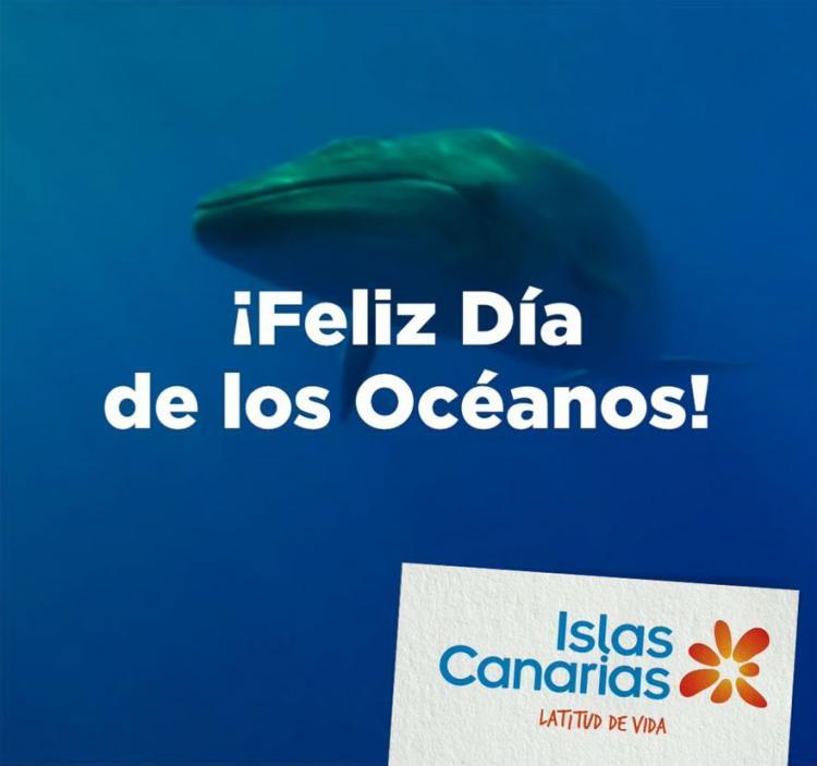 Día de los Océanos, una de las acciones dayketing de Islas Canarias