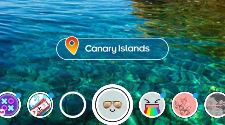 Acción de Islas Canarias en Snapchat para conectar con el público más joven