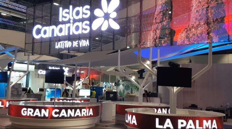 Stand de Islas Canarias en Fitur 2020