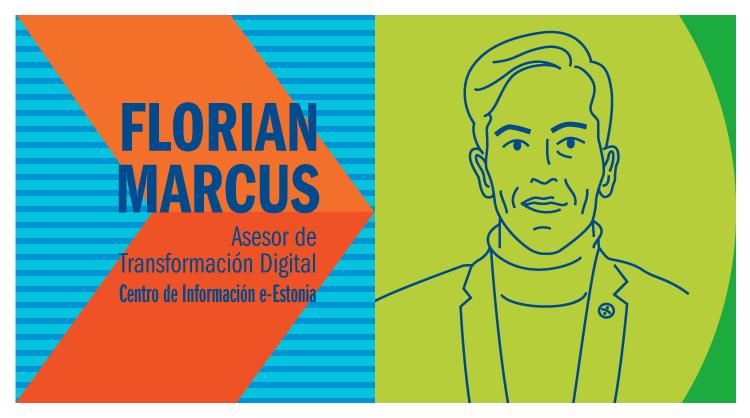 Florian Marcus, asesor de Transformación Digital en el Centro de Información e-Estonia.