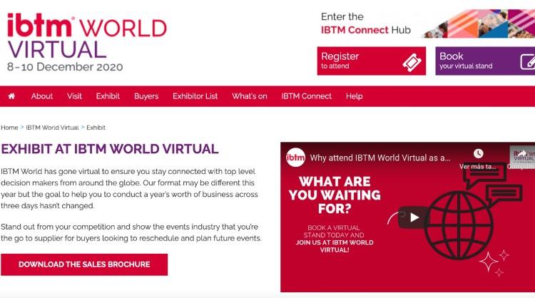 Turismo de Canarias participa en la IBTM World Virtual, el mayor encuentro de destinos de congresos y convenciones