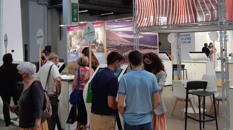 Canarias participa en la feria B-Travel en la Fira de Barcelona.