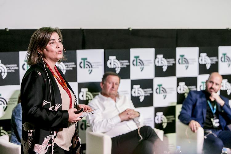 María Méndez, gerente de Promotur, en el IV Congreso de Turismo Digital de Canarias