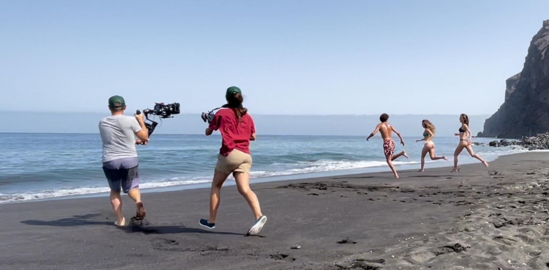 Turismo de Canarias renueva su material audiovisual con varios rodajes en diferentes puntos del Archipiélago.