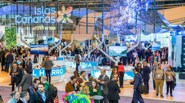 The Canary Islands pavilion at Fitur 2019