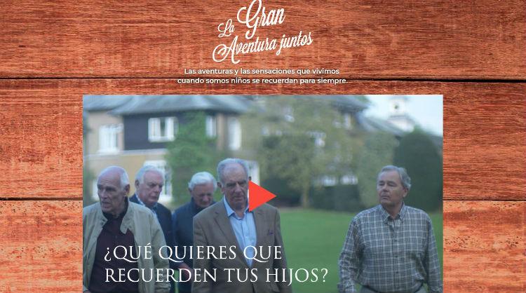 Acción promocional El encuentro de Hertfordshire - La Gran Aventura Juntos, Día Internacional de las Familias, Islas Canarias