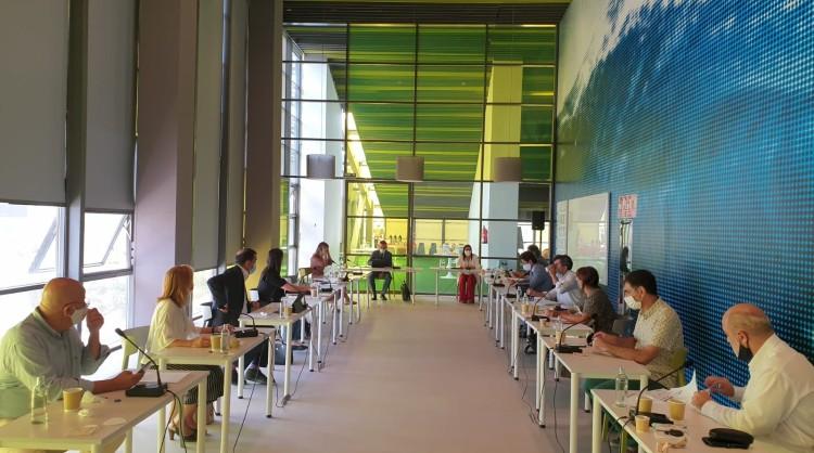 Reunión del Consejo de Administración de Promotur Turismo Canarias del pasado viernes, 18 de septiembre de 2020, en la que se nombró al nuevo gerente