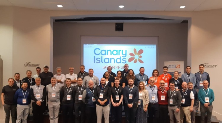 Roadshow in the United Kingdom to promote the Canary Islands as a golfing destination