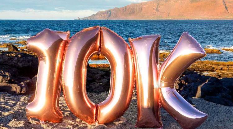 El Hierro alcanza 10.000 seguidores en Instagram, Islas Canarias