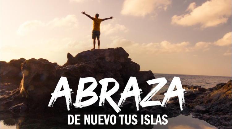 """Una de las imágenes de la campaña """"Abraza de nuevo tus Islas"""" dirigida al turismo interno"""