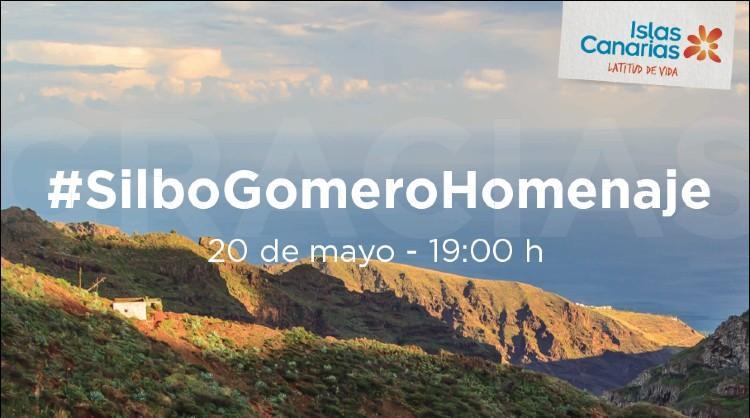 Acción de Islas Canarias para agradecer con un silbo gomero compartido a quienes han trabajado frente a la pandemia