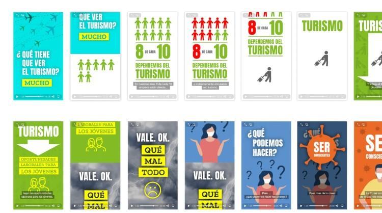 """La segunda fase de la campaña """"Qué bien se está sin turistas… ¿seguro?"""" está dirigida al público joven"""