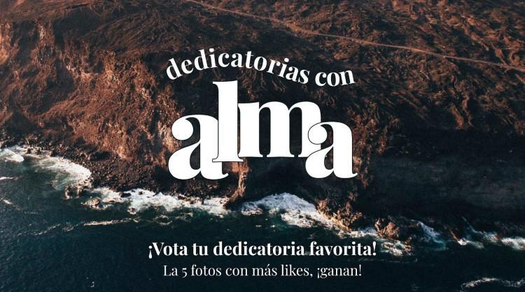 """""""Dedicatorias con alma"""", una acción para impulsar el deseo de viajar a El Hierro. Islas Canarias"""