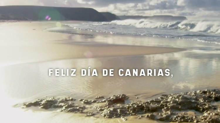 Fotograma de uno de los vídeos realizados con motivo de la festividad del Día de Canarias
