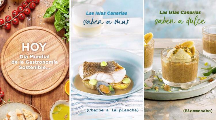 Gastronomía canaria en el Día Mundial de la Gastronomía Sostenible, Islas Canarias