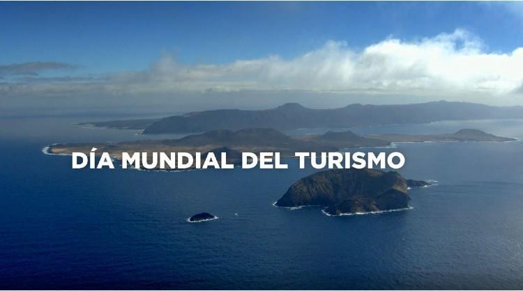 Fotograma de la pieza audiovisual de Turismo de Islas Canarias para conmemorar el Día Mundial del Turismo 2020