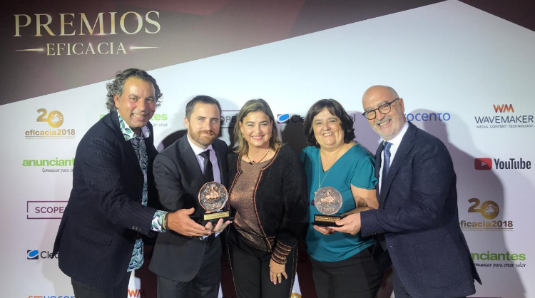 2018 Eficacia Award given to the Canary Islands brand for Most Innovative Strategy