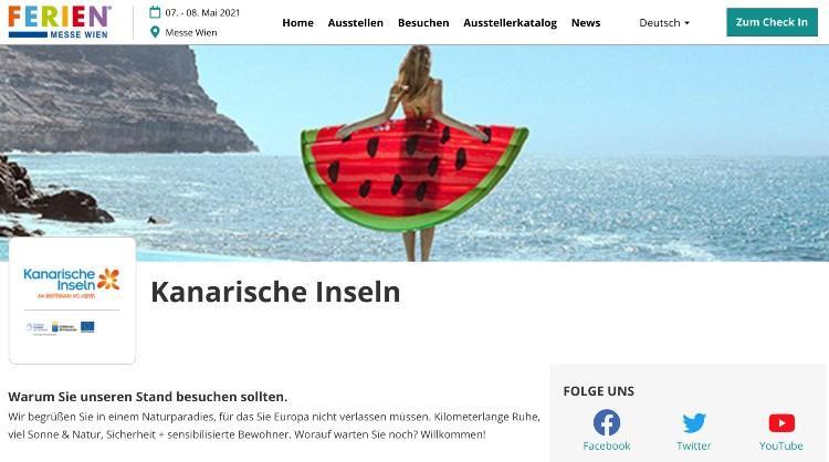 Participación de Islas Canarias en la feria Viena Reed Messe Wien 2021