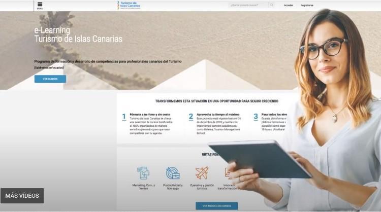 La plataforma de formación online de Turismo de Canarias registra más de 1.100 profesionales en sus primeros meses de funcionamiento