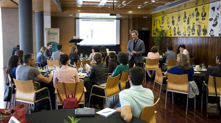 """Presentación del estudio """"Reputación gastronómica online de Canarias"""" en Fortunata"""