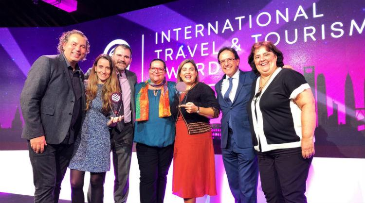 Awards given to the Canary Islands at the International Travel & Tourism Awards (ITTA) 2018
