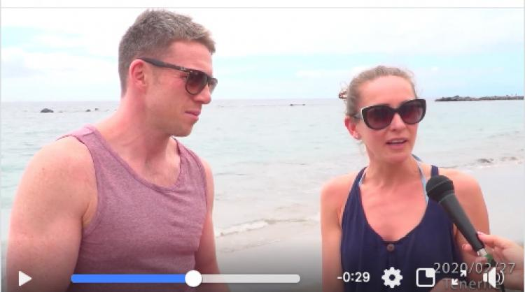 Canary Island profiles on social media have posted videos in several different languages featuring testimonies by tourists to reassure visitors against coronavirus hoaxes