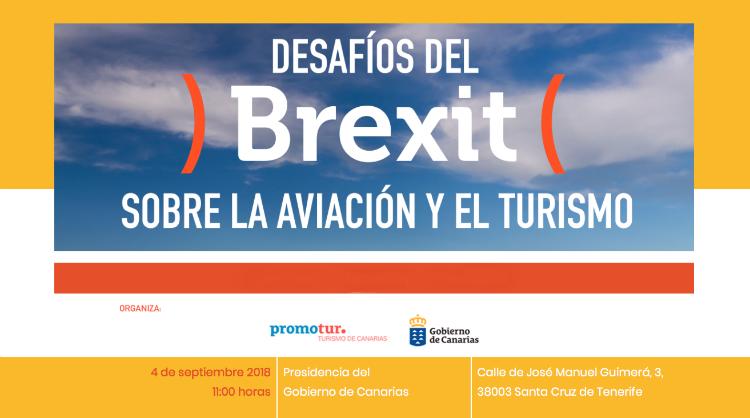 """Imagen de la jornada """"Desafíos del Brexit sobre la aviación y el turismo"""", Islas Canarias"""
