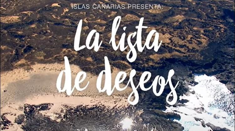 Campaña de Islas Canarias para felicitar la entrada del nuevo año