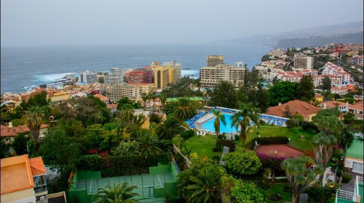 Localidad turística de las Islas Canarias