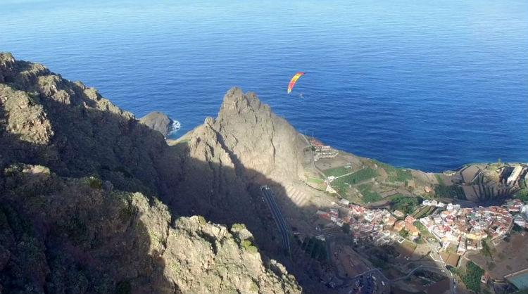 Pictures of The Flying Islands campaign promoted by the Canary Islands.