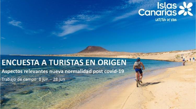Encuesta a turistas en origen ante la nueva normalidad pos-COVID-19