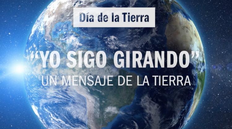 Una de las imágenes de la pieza audiovisual realizada por Islas Canarias para conmemorar el Día de la Tierra 2020