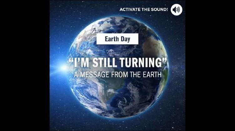 One of the images from the audiovisual piece made by the Canary Islands to commemorate Earth Day 2020