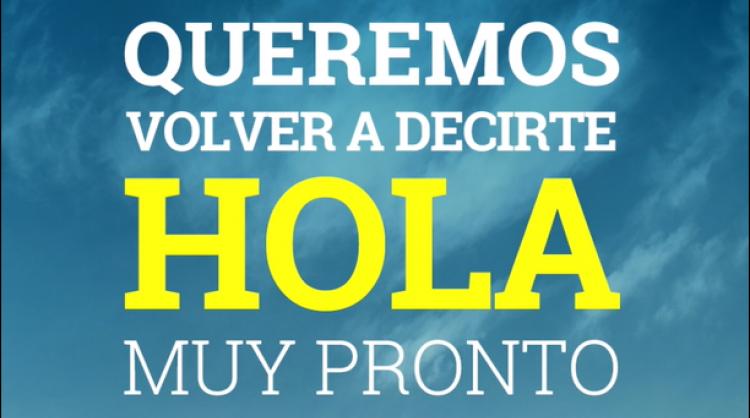 """Imagen de la nueva campaña """"Hasta pronto"""", Islas Canarias"""