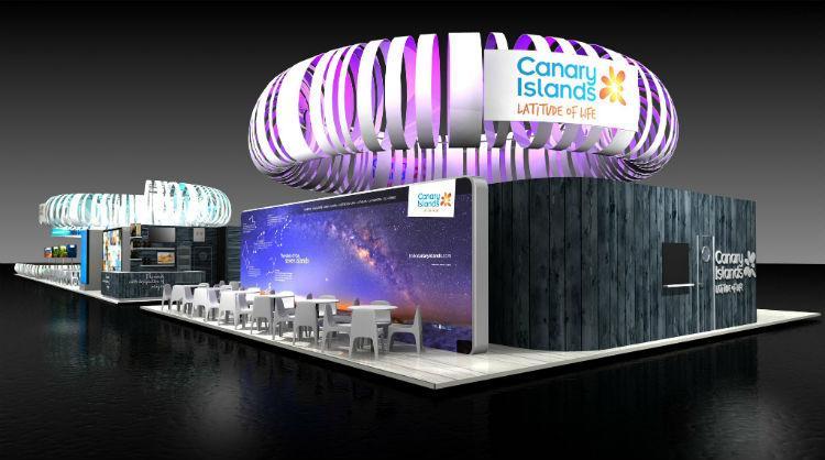Pabellón de Islas Canarias en la World Travel Market 2017