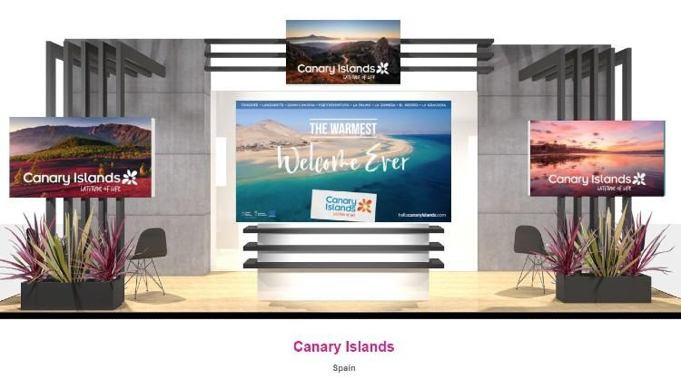 The Canary Islands participate in the latest edition of the WTM, this year held in a virtual format