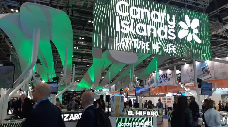 The Canary Islands pavilion at the 2019 World Travel Market (WTM)