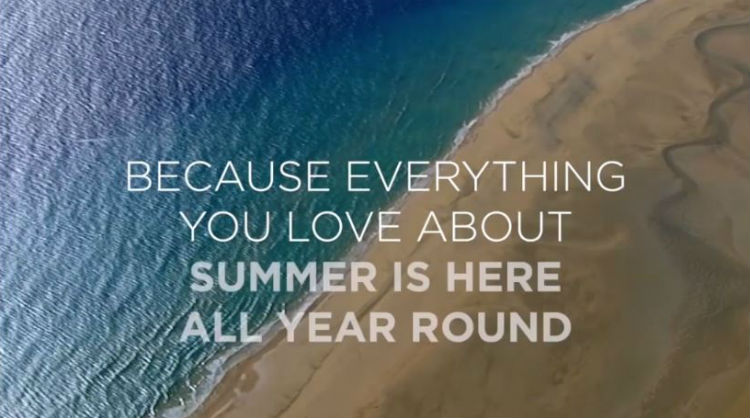 "Campaign ""Welcome Summer"", Islas Canarias"